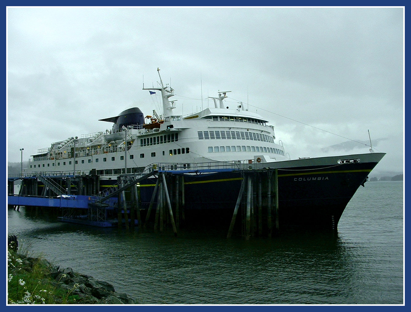AFR About the M/V Columbia ~ Alaska Tour Adventures ~ Alaska Ferry Tours
